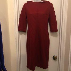 Diane von Furstenberg Red Dress size 6